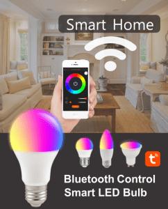 Bluetooth LED bulb SYBTB RGB+W dimmable