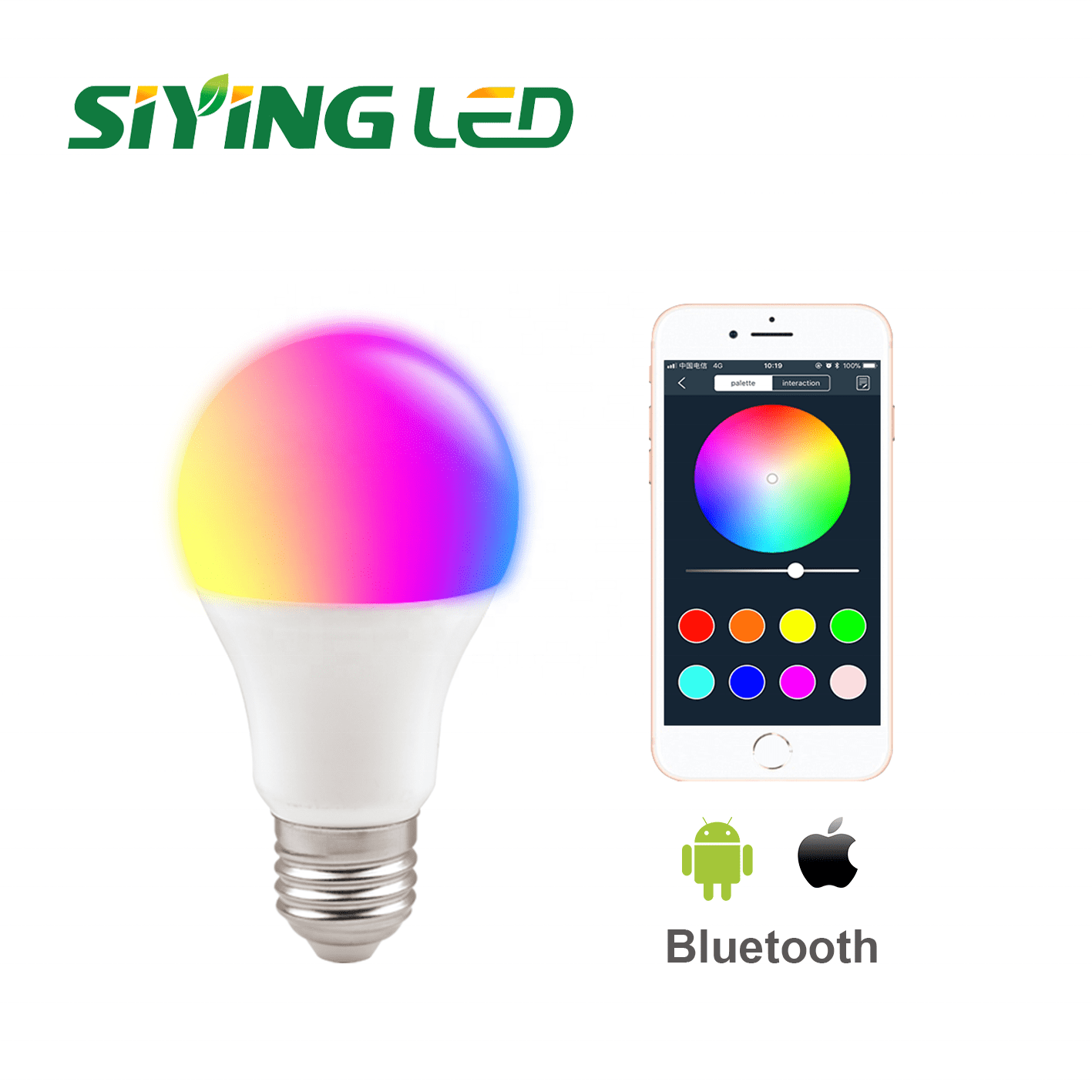 Aluzinc Roll Bluetooth Led Ceiling Lamp -